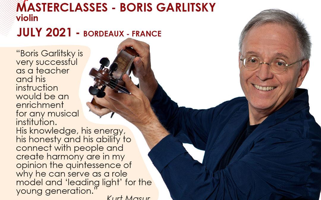Boris Garlitsky, violon