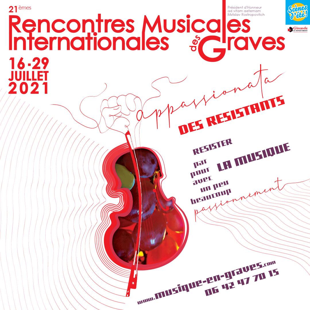Visuel festival Musique en Graves